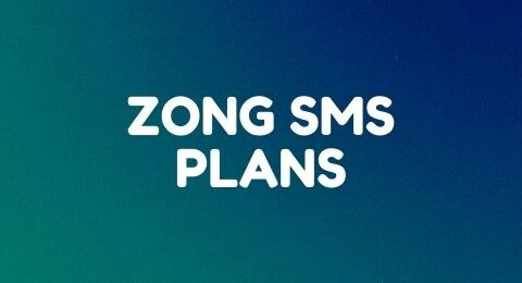 Zong daily, weekly, and monthly SMS plans
